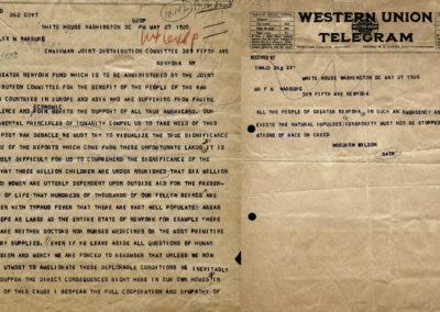 Woodrow Wilson's Appeal