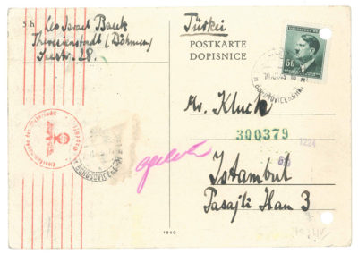 Postcard from Theresienstadt
