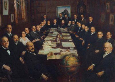 Painting Depicts JDC Founders