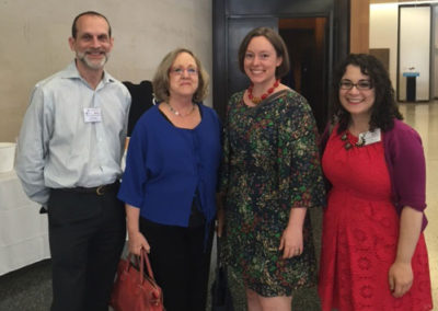 "Archives Staff Attend ""Archives in the Electronic Age"" Symposium"