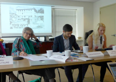JDC Archives Scholars' Workshop Focuses on Refugees and Statelessness