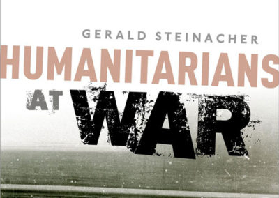 New Book on the International Committee of the Red Cross by 2014 JDC Archives Fellow, Gerald Steinacher