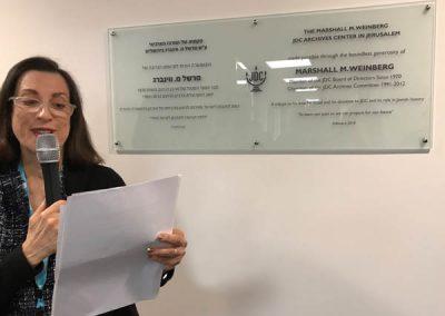JDC Dedicates New Archives Center in Jerusalem