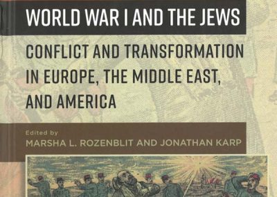 New Book on World War I and the Jews