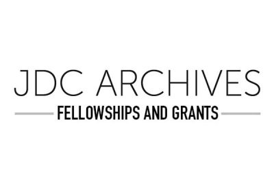 JDC Archives Accepting Applications for 2020 Fellowships