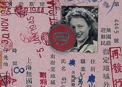 Gertrud Glanz's Scrapbook from Shanghai