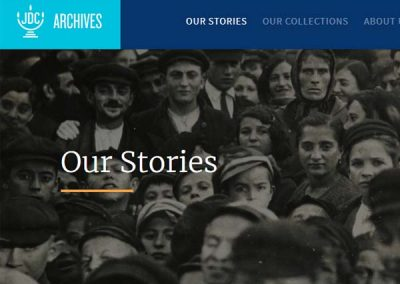 "Archives Website's ""Our Stories"" Section Presents Collection Highlights in a New Way"
